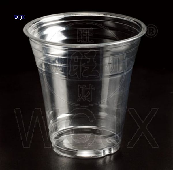 PET plastic drinking cups