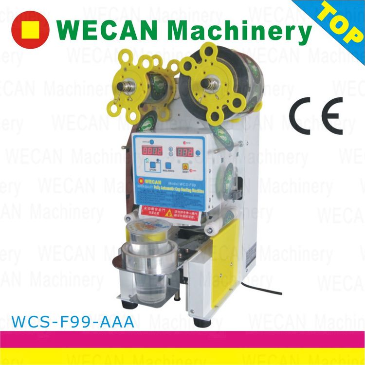Professional cup sealing machine/bubble tea equipment