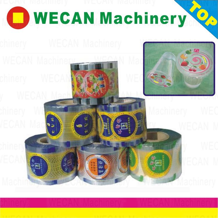 pp cup sealing film/pet cup sealing film/pe cups sealing film/paper cups sealing film/sealing film for pp cups and paper cups/sealing film for pp cups and pet cups/ foil sealing film/PLA  cups sealing film/lids for jelly