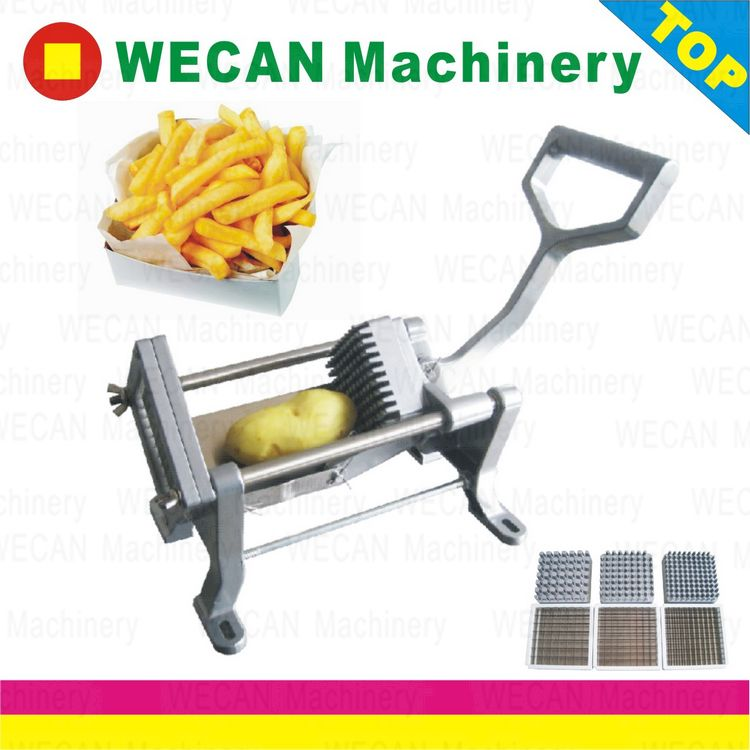 Manual French fries cutter