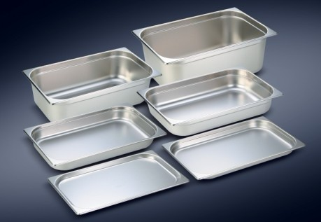 Stainless steel GN container/food pan